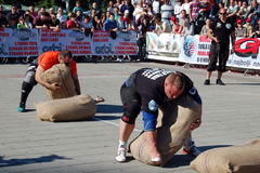 Strongman Championship Royalty Free Stock Photography