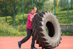Strongman exercise Royalty Free Stock Photography