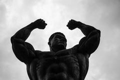 Strongman statue, Bangkok Stock Images