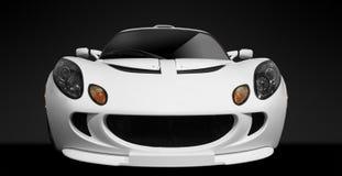 strony biały samochód Obraz Royalty Free
