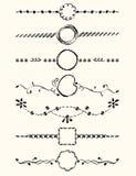 Strony dekoracja Zdjęcie Royalty Free