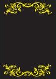 Strony granica Obrazy Royalty Free