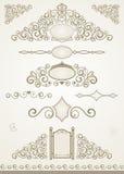 Strony i teksta dekoracje Zdjęcie Royalty Free