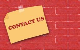Strony internetowej i interneta kontakt My pojęcie zdjęcie royalty free