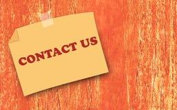 Strony internetowej i interneta kontakt My pojęcie obraz royalty free