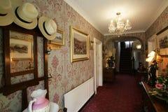 strony korytarza hotelu zdjęcie stock