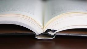 Strony książkowy kręcenie zdjęcie wideo
