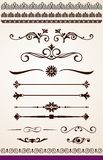 Strony lub teksta dividers granicy i dekoracje, Obrazy Royalty Free