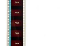 Strook van Rode Film 2 van de Film Royalty-vrije Stock Afbeelding