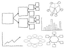 stroom grafieken stock illustratie