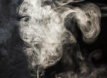 Stroom van rook Royalty-vrije Stock Fotografie