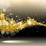 Stroom van sterren royalty-vrije illustratie