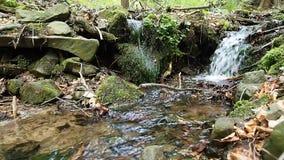 Stroom van water stock videobeelden