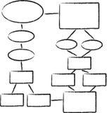 Stroomschema Stock Afbeelding