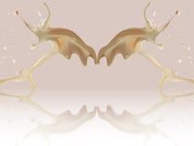 Stroomsuikerglazuur Royalty-vrije Stock Foto