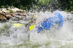 Stroomversnelling Rafting Royalty-vrije Stock Fotografie