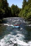 Stroomversnellingrivier Rafting Royalty-vrije Stock Afbeeldingen