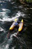 Stroomversnellingrivier Rafting Stock Fotografie