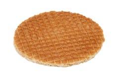 Stroopwafel, голландский waffle карамельки Стоковые Фото