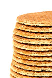 Stroopwafels - Dutch Cookies Royalty Free Stock Photo