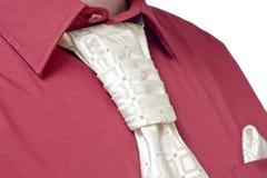 Stropdas en overhemd royalty-vrije stock afbeelding