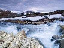 In the Stroplsjodalen valley, Norway Royalty Free Stock Photo