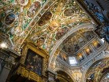 Stropować bazylik di Santa Maria Maggiore obraz royalty free