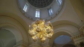 Stropować i świecznik w katedrze zdjęcie wideo