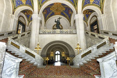 Stropować pokoju pałac obraz stock