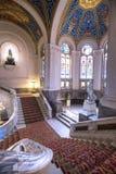 Stropować pokoju pałac fotografia royalty free