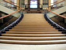 stroppig lobbytrappuppgång Fotografering för Bildbyråer