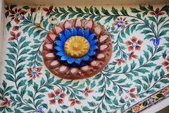 Stropujący przy miasto pałac, Udaipur obraz royalty free