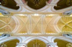 Stropujący w katedrze Erice, Santa Maria Assunta, Chiesa Madre Sycylia włochy Fotografia Royalty Free