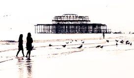 strosa för strand Arkivbilder