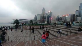 Strosa i Hong Kong arkivfilmer