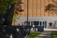 Strosacker salong - västra reservuniversitet för fall - Cleveland, Ohio arkivbilder