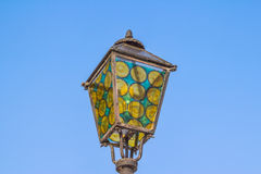 Strossmayer walkway lamp - Zagreb Stock Photo