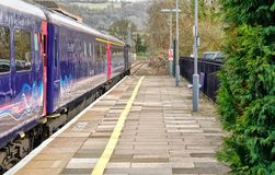 Stroud Railway Station, Cotswolds, Gloucestershire stock photo