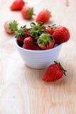 Strowberry frest od gospodarstwa rolnego Obraz Royalty Free