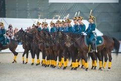 Stroy cavalry Royalty Free Stock Photos