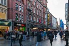 Strrets di Dublino Fotografie Stock Libere da Diritti