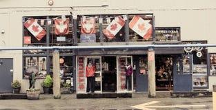 Strub land- och havsActivewear, Vancouver, B C Royaltyfri Bild