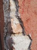 Structrure ściana zdjęcia stock