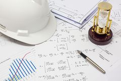 Structural Analysis Calculations Stock Photos