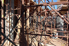 Structural concrete scaffolding Stock Photography