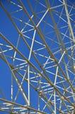 Structural details of a ferris wheel in an amusement Par. K Stock Photography