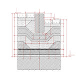 Structural drawing Stock Photography