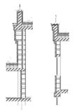 Structural drawing Stock Photos