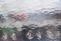 Structural glass pane for backgrounds Royalty Free Stock Image
