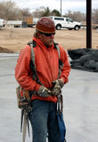 Structural ironworker Stock Image